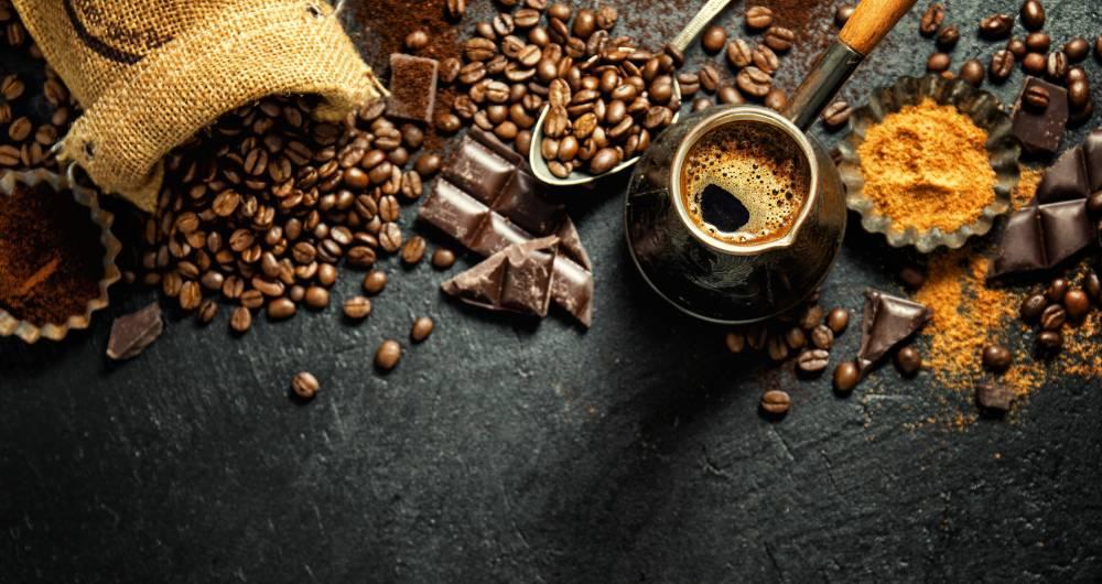 kafa i tamna cokolada