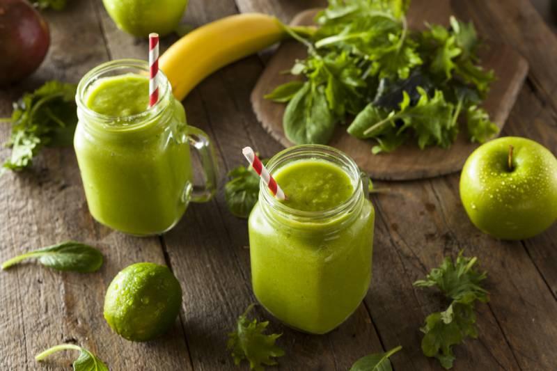 zeleni sejk za mrsavljenje